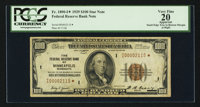 Fr. 1890-I* $100 1929 Federal Reserve Bank Note. PCGS Apparent Very Fine 20