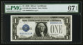 Small Size:Silver Certificates, Fr. 1600 $1 1928 Silver Certificate. PMG Superb Gem Unc 67 EPQ.. ...