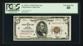 Small Size:Federal Reserve Bank Notes, Fr. 1850-A* $5 1929 Federal Reserve Bank Note. PCGS Extremely Fine 40.. ...