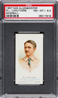 Baseball Cards:Singles (Pre-1930), 1888 N28 Allen & Ginter R.L. Caruthers, Baseball PSA NM-MT+ 8.5- Pop One, None Higher. ...