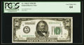 Fr. 2100-E $50 1928 Federal Reserve Note. PCGS Very Choice New 64