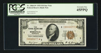 Fr. 1860-I* $10 1929 Federal Reserve Bank Note. PCGS Extremely Fine 45PPQ
