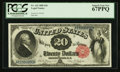 Large Size:Legal Tender Notes, Fr. 142 $20 1880 Legal Tender PCGS Superb Gem New 67PPQ.. ...