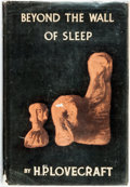 Books:Horror & Supernatural, H. P. Lovecraft. Beyond the Wall of Sleep. Sauk City: ArkhamHouse, 1943....