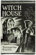 Books:Horror & Supernatural, Evangeline Walton. Witch House. Sauk City: Arkham House,1945....