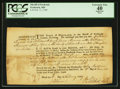 Miscellaneous:Other, Promissory Note - Frederick, MD Sheriff of Frederick 50 Pounds Feb.11, 1789.. ...