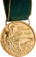 Miscellaneous Collectibles:General, 1996 Atlanta Olympics Gold Medal Presented to American Swimmer Brooke Bennett....