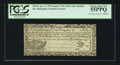 Colonial Notes:New Hampshire, Cohen Reprint New Hampshire April 3, 1755 Redated June 1, 1756 3s9d PCGS Choice About New 55PPQ.. ...