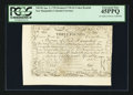 Colonial Notes:New Hampshire, Cohen Reprint New Hampshire April 3, 1755 Redated June 1, 1756 £3PCGS Extremely Fine 45PPQ.. ...