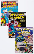 Silver Age (1956-1969):Science Fiction, Mystery in Space #45-48 Group (DC, 1958) Condition: Average FN....(Total: 4 Comic Books)