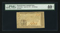 Colonial Notes:Pennsylvania, Pennsylvania April 10, 1777 40s PMG Extremely Fine 40 Net.. ...
