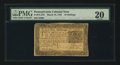 Colonial Notes:Pennsylvania, Pennsylvania March 16, 1785 10s PMG Very Fine 20.. ...