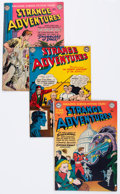 Golden Age (1938-1955):Science Fiction, Strange Adventures Group (DC, 1951-54) Condition: Average VG/FN....(Total: 11 Comic Books)