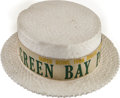 Football Collectibles:Others, 1968 Super Bowl II Green Bay Packers Hat....