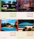 Books:Art & Architecture, [Frank Lloyd Wright]. [Architecture]. Group of Four First Edition Books on Frank Lloyd Wright. Thomas A. Heinz. Chicagol...