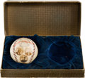 Baseball Collectibles:Others, 1926 National League Golden Jubilee Baseball in Presentation Box....