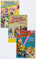 Golden Age (1938-1955):Science Fiction, Strange Adventures Group (DC, 1953-54) Condition: Average FN....(Total: 9 Comic Books)