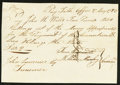 Colonial Notes:Connecticut, Connecticut Handwritten Pay Table Office £10 2s May 27, 1783 About New.. ...