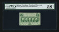 Fractional Currency:First Issue, Fr. 1312 50¢ First Issue PMG Choice About Unc 58 Net.. ...