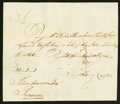 Colonial Notes:Connecticut, Connecticut Handwritten Pay Table Office £24 2s March 13, 1782 VeryFine-Extremely Fine.. ...