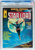 Magazines:Science-Fiction, Marvel Preview #4 Star-Lord (Marvel, 1976) CGC NM+ 9.6 Whitepages....