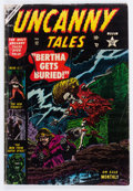 Golden Age (1938-1955):Horror, Uncanny Tales #12 (Atlas, 1953) Condition: GD+....