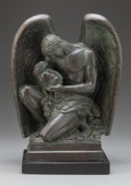 Fine Art - Sculpture, American:Contemporary (1950 to present), PAUL MANSHIP (American, 1885-1966). De Bocande Memorial,1926. Bronze with brown patina. 13-1/2 inches (34.3 cm) high on...