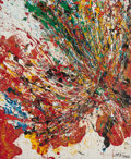 Paintings, TOSHIMATSU IMAI (Japanese, 1928-2002). Untitled, 1962. Oil on canvas. 28-3/4 x 23-1/2 inches (73.0 x 59.7 cm). Signed an...