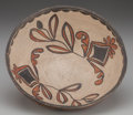 American Indian Art:Pottery, A SAN ILDEFONSO POLYCHROME BOWL. c. 1900...