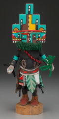 American Indian Art:Kachina Dolls, A HOPI COTTONWOOD KACHINA DOLL. Hemis...
