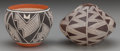 American Indian Art:Pottery, TWO SOUTHWEST POTTERY VESSELS... (Total: 2 Items)
