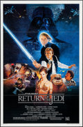 """Movie Posters:Science Fiction, Return of the Jedi (20th Century Fox, 1983). One Sheet (27"""" X 41"""")Flat Folded Style B. Science Fiction.. ..."""
