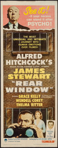 "Movie Posters:Hitchcock, Rear Window (Paramount, R-1962). Insert (14"" X 36""). Hitchcock....."