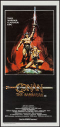"Movie Posters:Action, Conan the Barbarian (20th Century Fox, 1982). Australian Daybill (13"" X 27.75""). Action.. ..."
