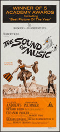 "Movie Posters:Academy Award Winners, The Sound of Music (20th Century Fox, R-1970s). Australian Daybill(13"" X 30""). Academy Award Winners.. ..."