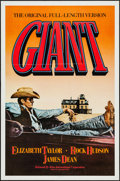 "Movie Posters:Drama, Giant (Kino International, R-1982). One Sheet (27"" X 41"") Flat Folded. Drama.. ..."