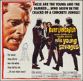 "Movie Posters:Crime, The Young Savages (United Artists, 1961). Six Sheet (78"" X 79"").Crime.. ..."