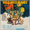 "Movie Posters:Science Fiction, Wild, Wild Planet (MGM, 1967). Six Sheet (78"" X 79""). ScienceFiction.. ..."