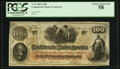 Confederate Notes:1862 Issues, T41 $100 1862 PF-28 Cr. UNL. ...