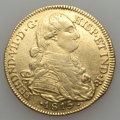 Colombia, Colombia: Ferdinand VII gold 8 Escudos 1815 NR-JF VF - Cleaned,...
