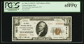 National Bank Notes:Pennsylvania, Intercourse, PA - $10 1929 Ty. 2 The First NB Ch. # 9216. ...