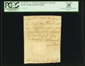 Colonial Notes:North Carolina, North Carolina November 27, 1729 £3 Contemporary Counterfeit PCGSApparent Very Fine 30.. ...