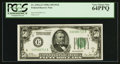 Fr. 2101-E $50 1928A Federal Reserve Note. PCGS Very Choice New 64PPQ