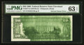Error Notes:Ink Smears, Fr. 2077-D $20 1990 Federal Reserve Note. PMG Choice Uncirculated63 EPQ.. ...