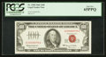 Small Size:Legal Tender Notes, Low Serial Number A00000078A Fr. 1550 $100 1966 Legal Tender Note. PCGS Gem New 65PPQ.. ...
