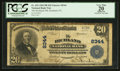 National Bank Notes:Pennsylvania, Richland, PA - $20 1902 Plain Back Fr. 652 The Richland NB Ch. #8344. ...
