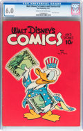 Golden Age (1938-1955):Cartoon Character, Walt Disney's Comics and Stories #20 (Dell, 1942) CGC FN 6.0 Creamto off-white pages....