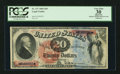 Large Size:Legal Tender Notes, Fr. 127 $20 1869 Legal Tender PCGS Apparent Very Fine 30.. ...