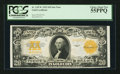 Large Size:Gold Certificates, Fr. 1187* $20 1922 Gold Certificate PCGS Choice About New 55PPQ.. ...