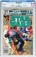 Modern Age (1980-Present):Science Fiction, Star Wars #56 (Marvel, 1982) CGC NM/MT 9.8 White pages....